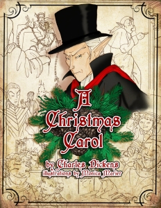 Cover A Christmas Carol By Charles Dickens by Monica Marier 2014